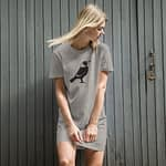 organic cotton t shirt dress